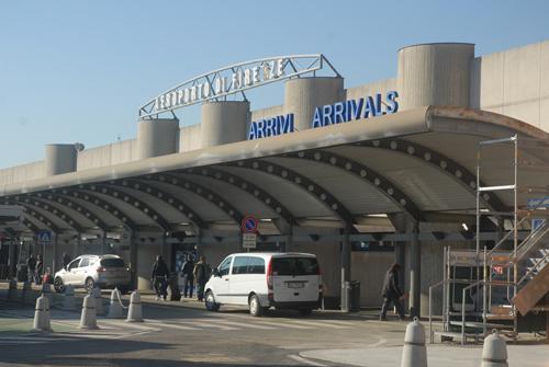L'attuale aerostazione passeggeri