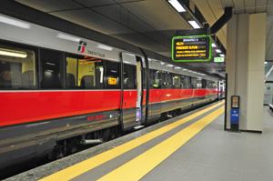 La stazione ferroviaria di Malpensa