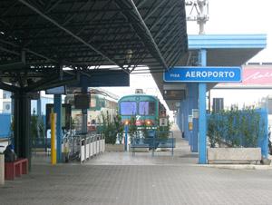 """La stazione ferroviaria """"Pisa Aeroporto"""""""