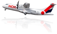 ATR 42 della francese HOP!
