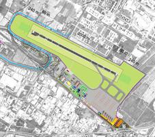 """Il progetto della nuova pista 12/30 """"parallela convergente"""""""