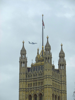 Londra - Victoria Tower, Palazzo di Westminster
